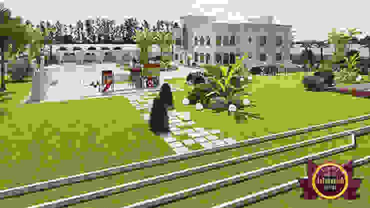 Divine Superior Landscape Plan by Luxury Antonovich Design