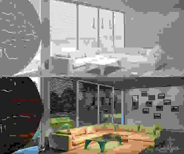 Moderne Wohnzimmer von Robert Majewski 3dArtist Modern
