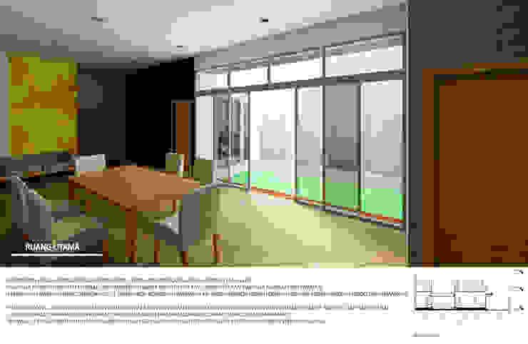 ruang utama Ruang Keluarga Minimalis Oleh Agatha Design Minimalis Keramik