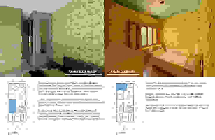 kamar master dan kamar anak Kamar Tidur Minimalis Oleh Agatha Design Minimalis Keramik