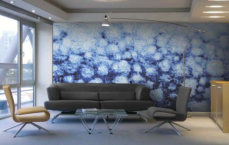 Aquacolors / Moretti A&D 辦公室&店面 磁磚 Blue