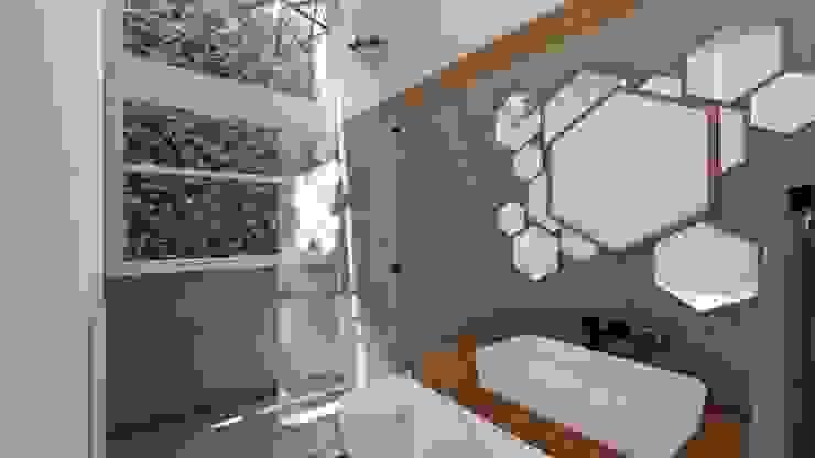 Moderne Badezimmer von Rodrigo León Palma Modern Keramik