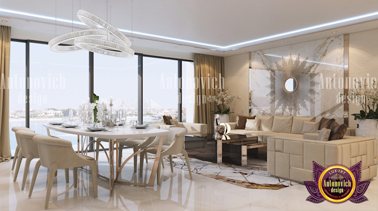 Marble madness by Luxury Antonovich Design
