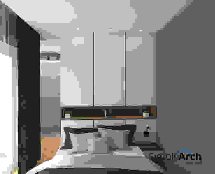 Design Kamar Tidur Utama Kamar Tidur Minimalis Oleh Simply Arch. Minimalis
