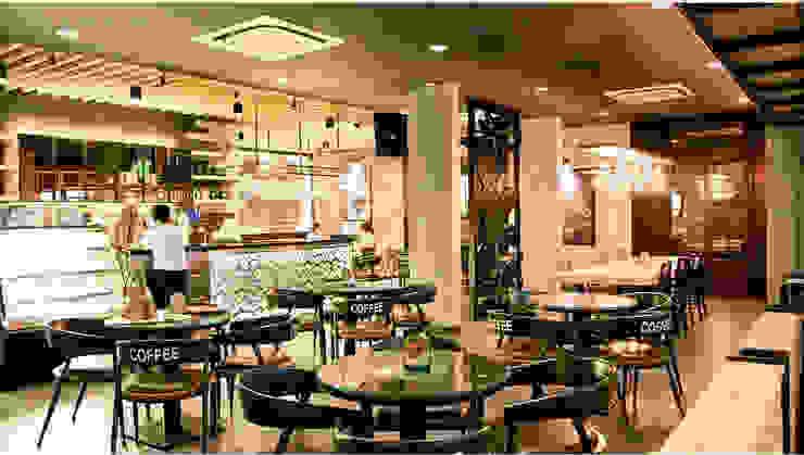 Excellso Cafe Surabaya:industri  oleh PT. Evata Furniture, Industrial Besi/Baja