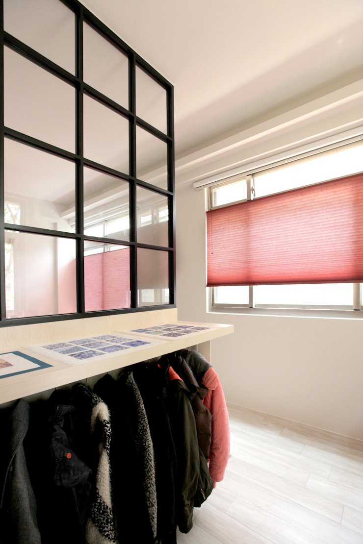 Vali 無紡蜂巢簾—磚紅: 斯堪的納維亞  by MSBT 幔室布緹, 北歐風 合成纖維 Brown