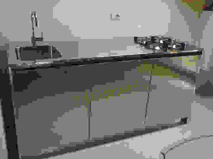 SteellArt 現代廚房設計點子、靈感&圖片 鐵/鋼