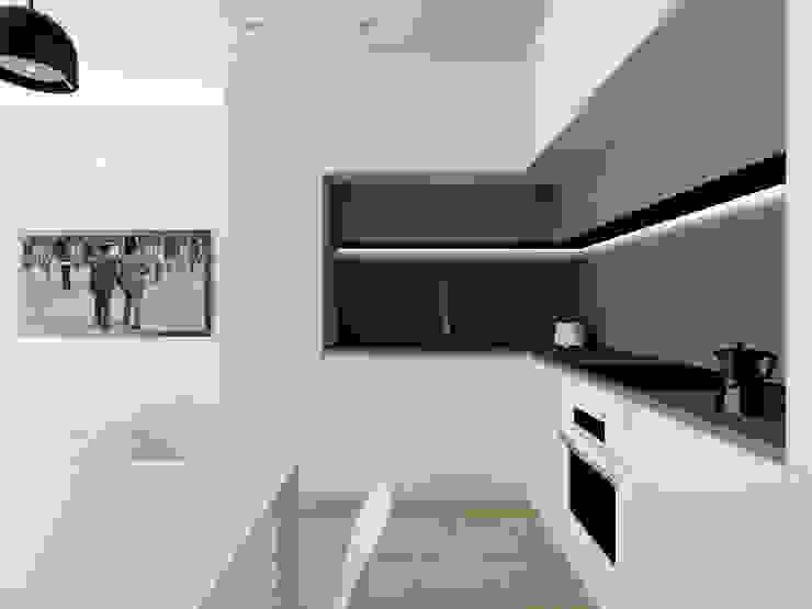 Modern Living Room by Flavia Benigni Architetto Modern