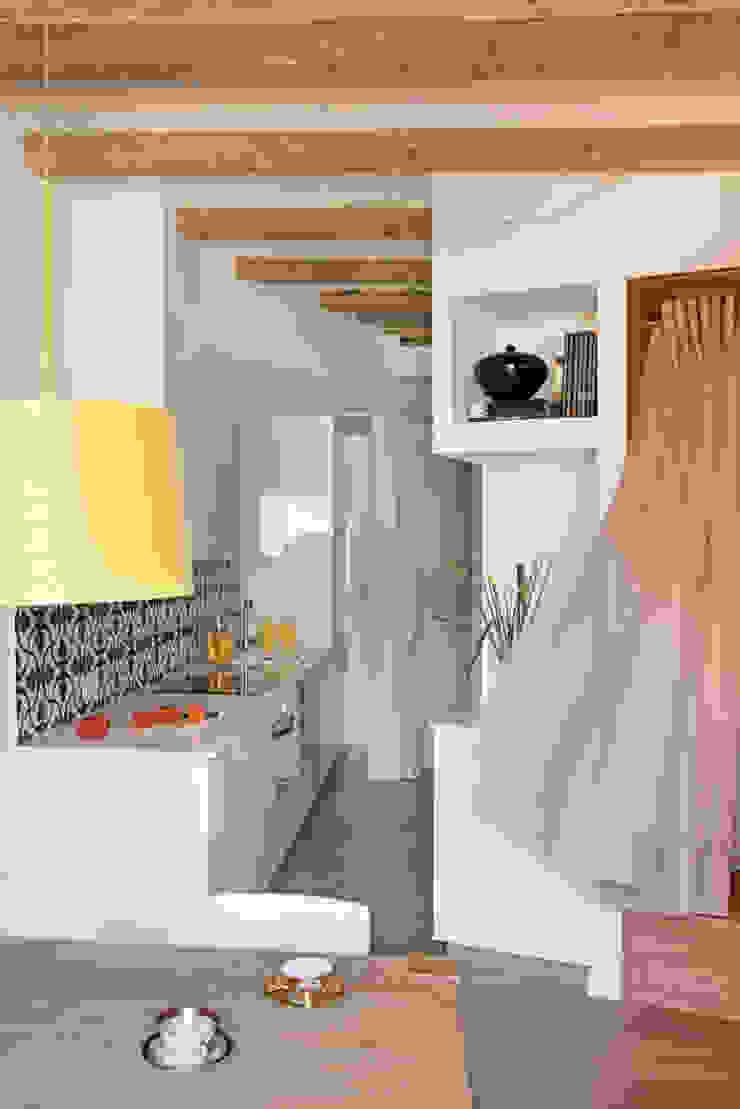 PISO PARLAMENT29 Miel Arquitectos Kitchen