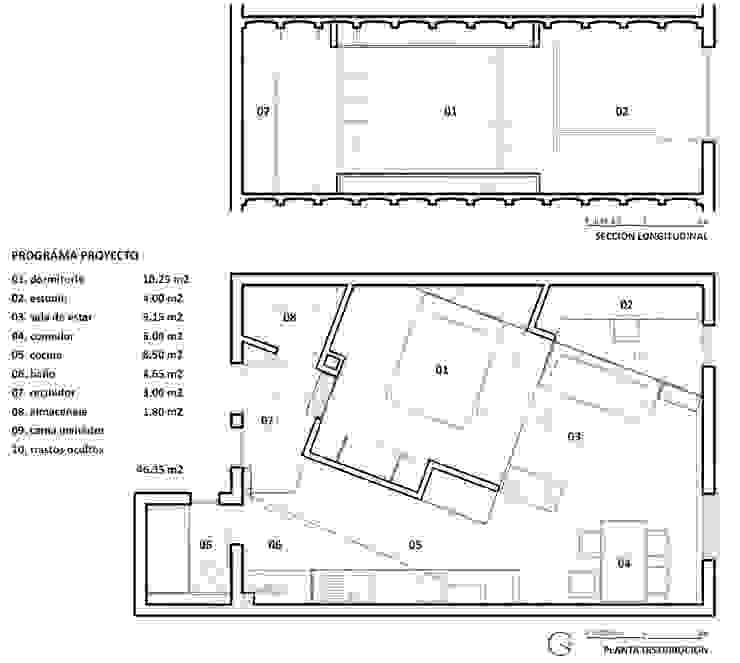 PISO PARLAMENT29 Miel Arquitectos