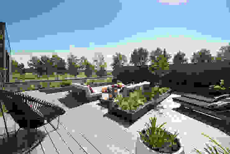 by Studio REDD exclusieve tuinen Modern Wood Wood effect