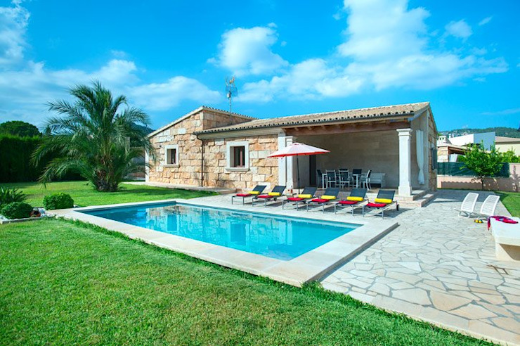 Casas unifamiliares de estilo  por Diego Cuttone, arquitectos en Mallorca,