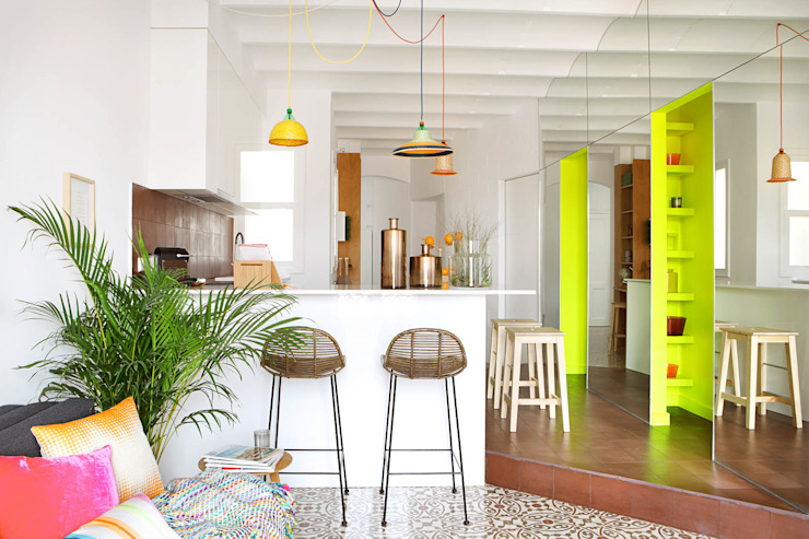 Miel Arquitectos Dapur Gaya Mediteran