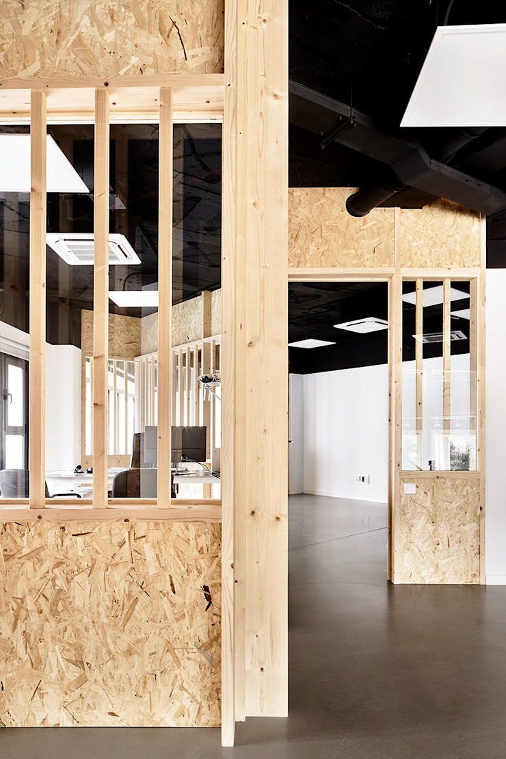 Miel Arquitectos Modern offices & stores