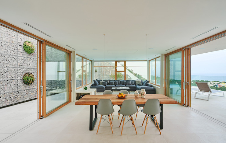CASA FORBES Miel Arquitectos Modern dining room