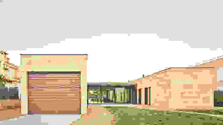 CASA ES CARNATGE Casas de estilo moderno de Miel Arquitectos Moderno
