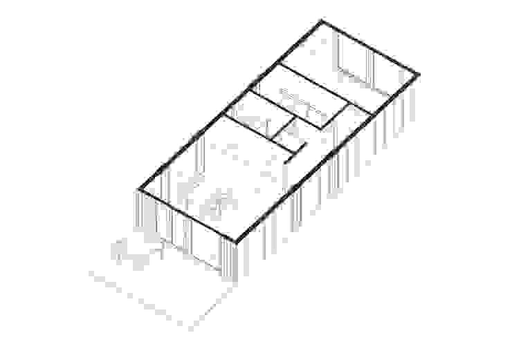 Модульный деревянный дом 53 кв.м: Стены в . Автор – Module dom,