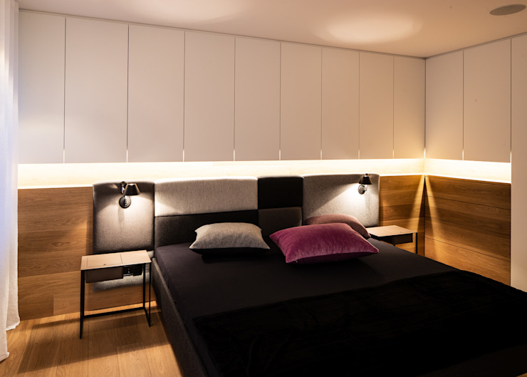 schulz.rooms Modern style bedroom