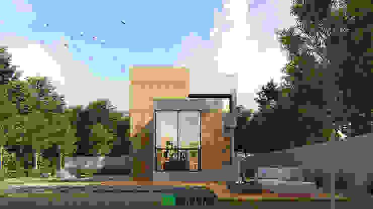 MINIMAL JAPANESE โดย The OnGround บริษัทรับสร้างบ้านสไตล์ Modern Japanese มินิมัล