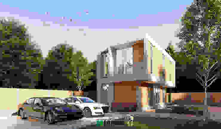 MODERN JAPANESE โดย The OnGround บริษัทรับสร้างบ้านสไตล์ Modern Japanese มินิมัล