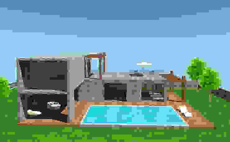 Villas by SKY İç Mimarlık & Mimarlık Tasarım Stüdyosu,