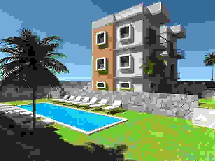 Multi-Family house by SKY İç Mimarlık & Mimarlık Tasarım Stüdyosu