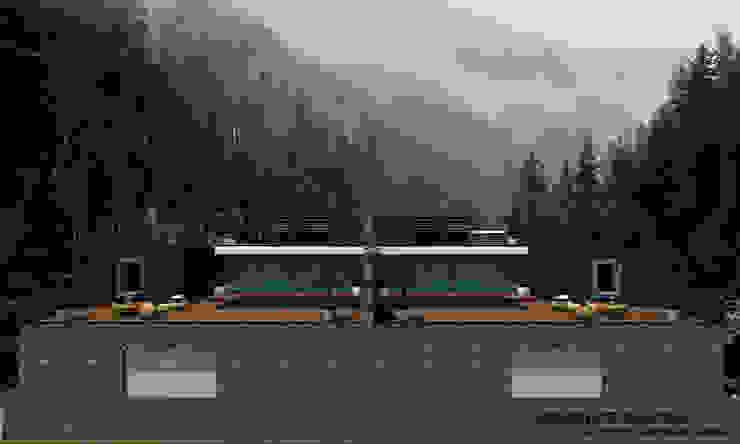 Country house by SKY İç Mimarlık & Mimarlık Tasarım Stüdyosu,