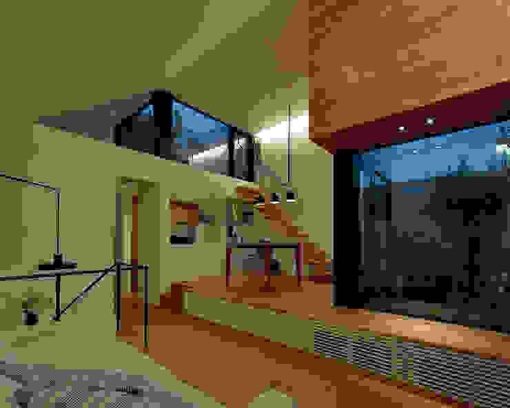 株式会社Fit建築設計事務所 Eclectic style living room