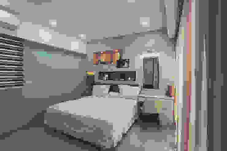綠色的牆面讓整個空間更加舒適 根據 奕禾軒 空間規劃 /工程設計 現代風