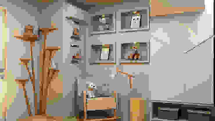 غرف الرضع تنفيذ Espaço Arquitetural | Arquitetos em Natal
