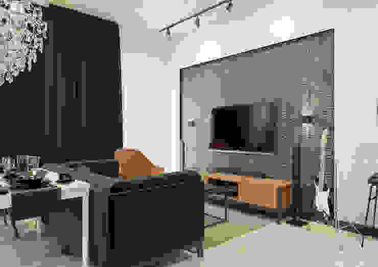 Moderne woonkamers van Дизайн Студия 33 Modern