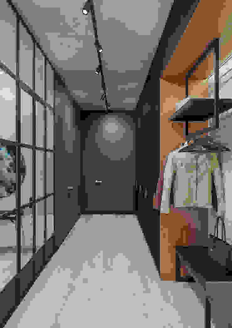 Moderne gangen, hallen & trappenhuizen van Дизайн Студия 33 Modern