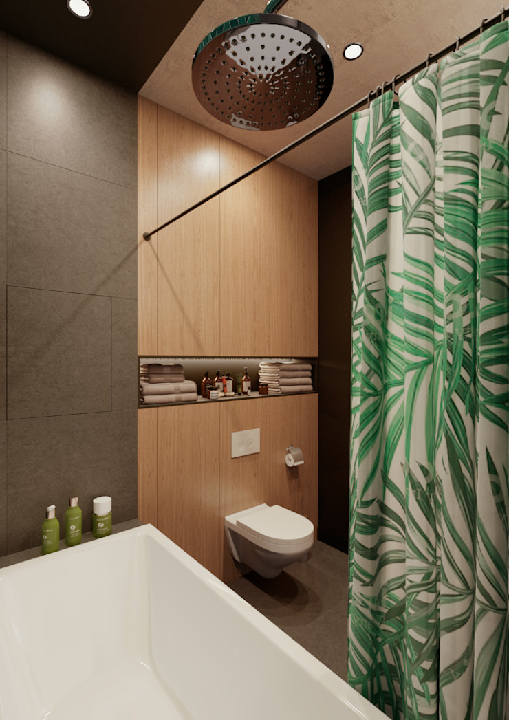 Moderne badkamers van Дизайн Студия 33 Modern