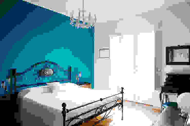 Camera da letto Idea Ristruttura Camera da letto in stile classico Blu