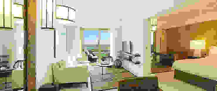 Modern living room by Barbot Modern