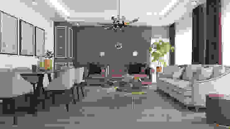 Salon Modern Oturma Odası Rengin Mimarlık Modern