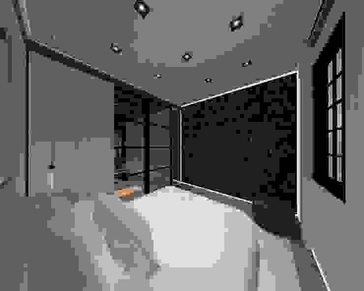 3D Visualisatie - Delft Spijker Design Studio Moderne slaapkamers