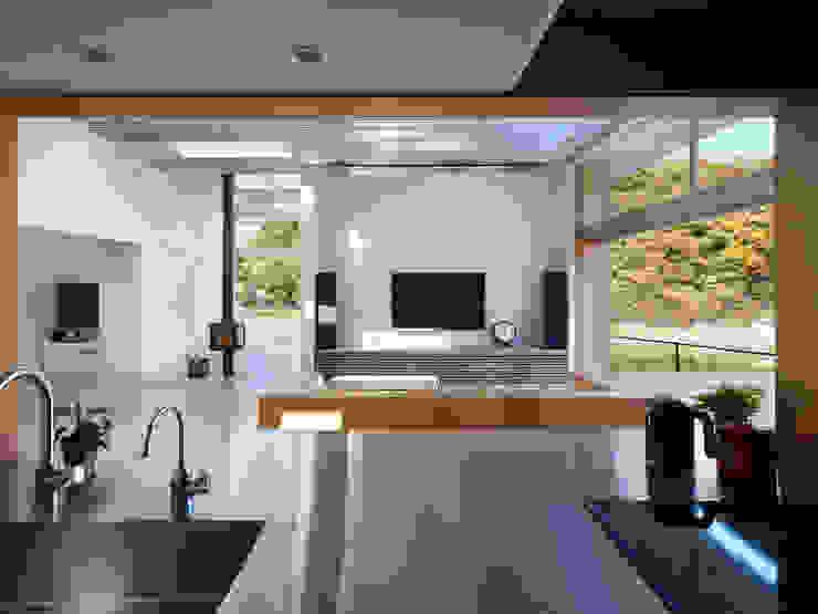 Dapur Modern Oleh 藤原・室 建築設計事務所 Modern