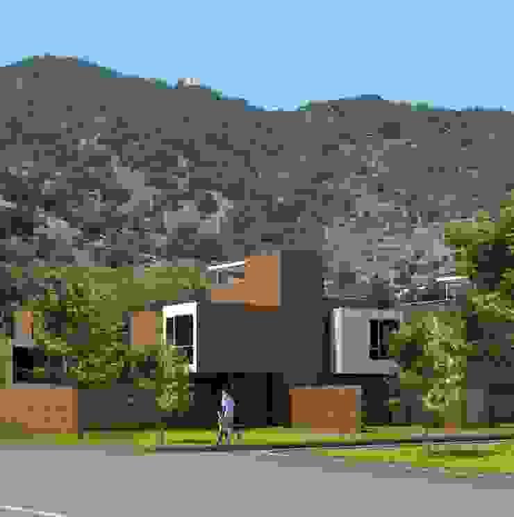 Casa San Carlos de Apoquindo de AOG Moderno Ladrillos