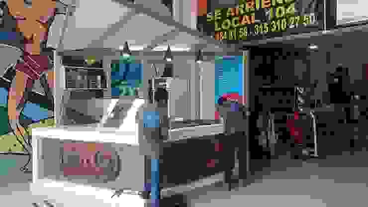 stand de helados Frozen rolls / Ibagué - Tolima de Taller 3M Arquitectura & Construcción Ecléctico
