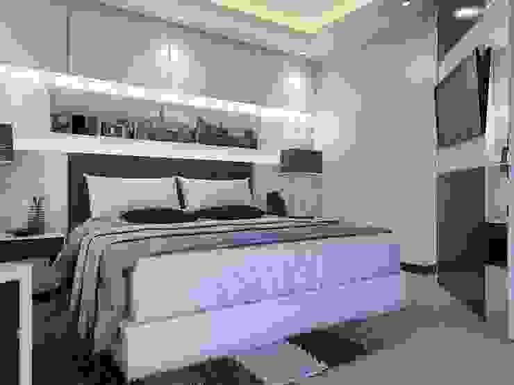 Dormitorios minimalistas de Maxx Details Minimalista