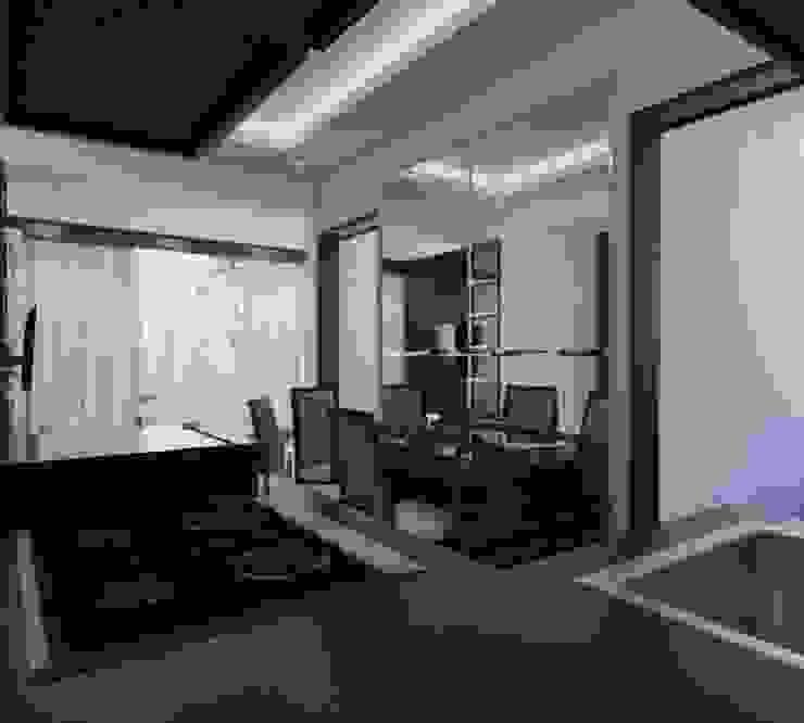 Apartemen The Jarrdin Bandung Maxx Details Ruang Makan Modern