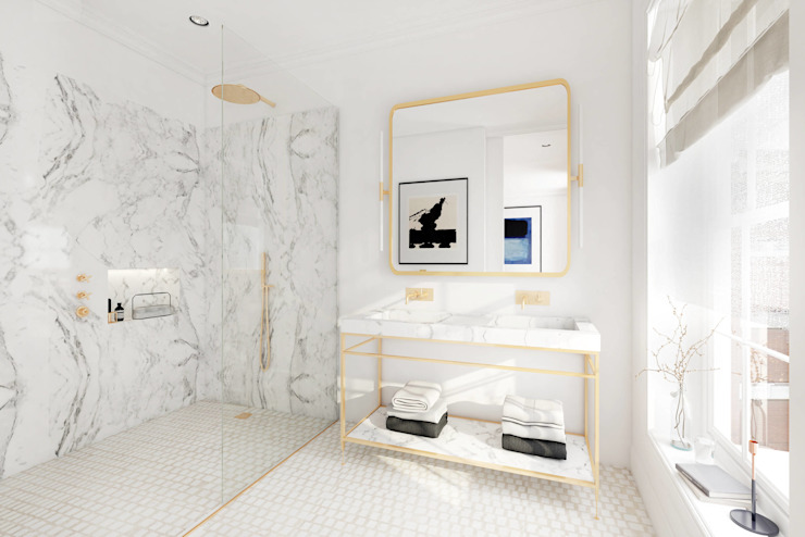 Renderings von Badezimmern von Vizua® - Plattform für 3D ...