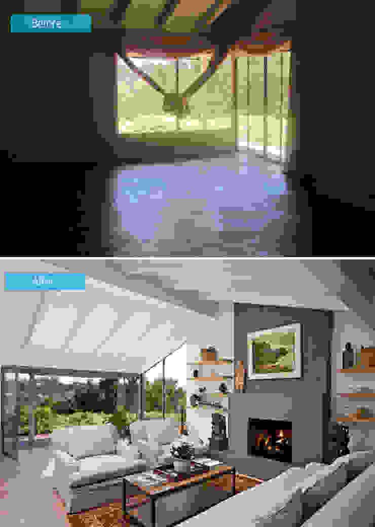 Hình ảnh trước và sau khi sữa chữu ngôi nhà bởi DOLANHA