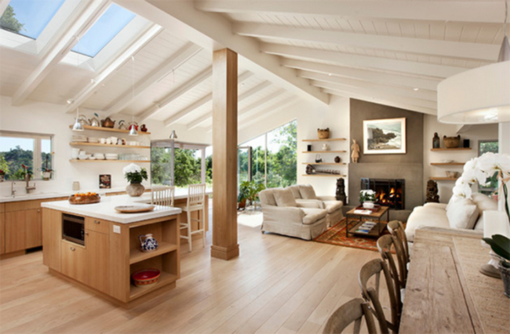 Thiết kế thi công nhà tại Đà Lạt bởi DOLANHA Mộc mạc