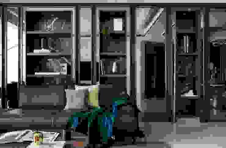 瀞若.覓謐 |Sequestered Reality 现代客厅設計點子、靈感 & 圖片 根據 理絲室內設計有限公司 Ris Interior Design Co., Ltd. 現代風
