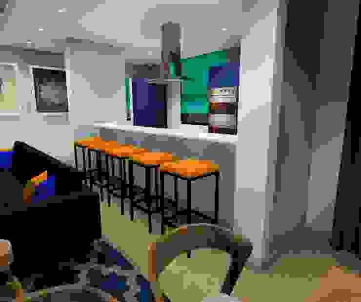 kitchen : modern  by AB DESIGN, Modern