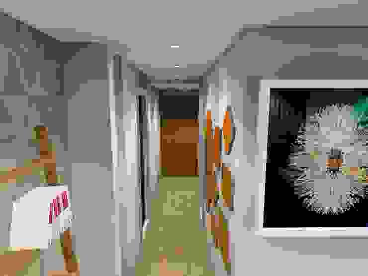 hallway : modern  by AB DESIGN, Modern