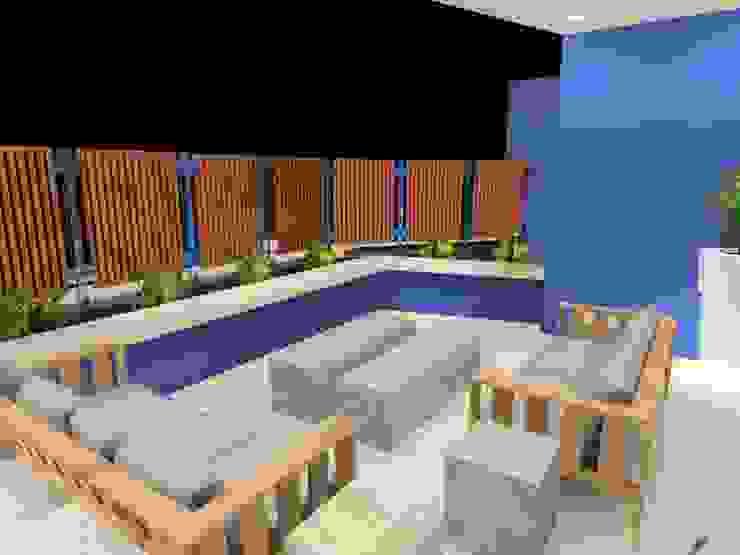 terrace 2: modern  by AB DESIGN, Modern
