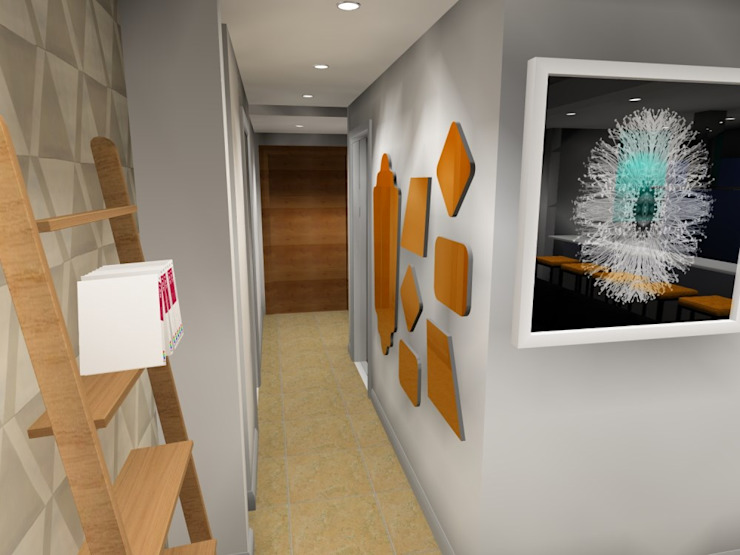 entrance : modern  by AB DESIGN, Modern